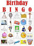 Tons of Free Printable Bingo Cards for Any Classroom or Get-Together: Birthday Bingo Game Cards