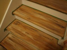 Faux Wood Graining Fake Your Way To Oak Stair Treads With