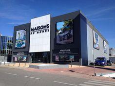 Mégastore Maisons du Monde à Majadahonda en Espagne. Caissons lumineux grand format.