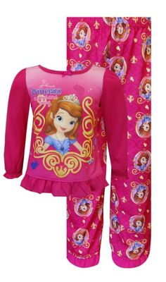 Sofia the First Little Girls  Pearls 2 Piece Pajama Set