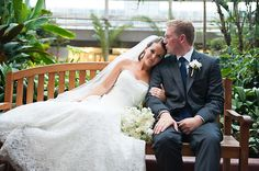 Gorgeous Royal Blue Conservatory Wedding in Chicago   Images by Keren Sarai Photography   Via Modernly Wed   63