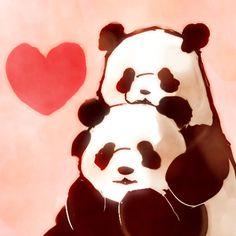 [pixiv] Pandas! - pixiv Spotlight
