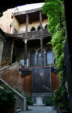 Venice's Palazzo Fortuny is one of the major inspirations for Austin's unique treasure, Palazzo Lavaca.