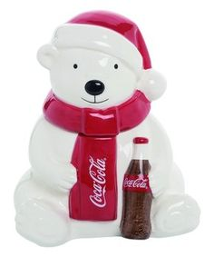 Deck the Halls With Whimsy | Zulily Pepsi, Coke, Coca Cola Polar Bear, White Polar Bear, Decorated Jars, Deck The Halls, Whimsical, Sweet Treats, Coca Cola