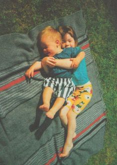 Baby Harry and Gemma