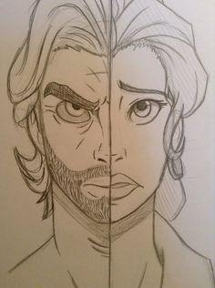 Bigby Wolf and Snow White by DiscordArcane.deviantart.com on @DeviantArt