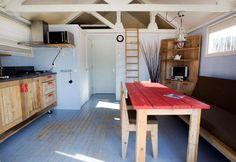 Castricum aan Zee, Camping Bakkum > Strandhuisje met douche en toilet www.campingbakkum.nl