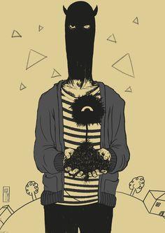 Oyasumi Punpun x Aku no Hana fan art by EisAntares Bonne Nuit Punpun, Crossover, Anime Manga, Anime Art, Goodnight Punpun, The Flowers Of Evil, Cult, Chef D Oeuvre, Comic Panels