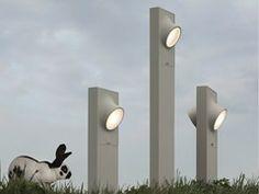 Lámpara de pie LED de aluminio CICLOPE   Lámpara de pie - ARTEMIDE