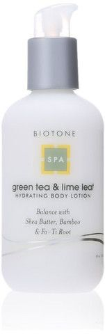 Biotone Hydrating Body Lotion, Green Tea and Lime Leaf, 8.0 Fluid Ounce