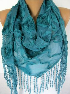 Big SALE 9.90 USD  scarf women scarves  guipure   by MebaDesign, $9.90