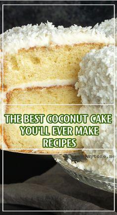 Coconut Cake Recipe With White Cake Mix.Super Easy Coconut Cake Recipe Starts With A Boxed Cake Mix . Semi Homemade Coconut Cake I Heart Recipes. Best Coconut Cake Recipe, Coconut Cupcakes, Cake Mix Recipes, Dessert Recipes, Indian Cake, Yogurt Cake, White Cake Mixes, Homemade Cakes, Let Them Eat Cake