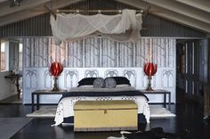 7 Top Farm Stays Around the World Gorgeous Royalla Farm Stay Deer Farm, Farm Stay, Down On The Farm, Dog Care, Hotels, Around The Worlds, Spaces, Luxury, Bed