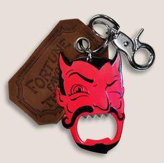 Red Devil Bottle Opener