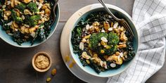 Crispy Butter Bean Bowl with Broccoli & Creamy Miso Dressing...