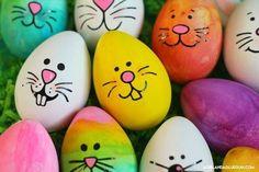 - A girl and a glue gun eggs crafts Bunny faces free cut file! - A girl and a glue gun Easter Egg Crafts, Easter Eggs, Bunny Crafts, Easter Hunt, Easter Cake, Easter Party, Easter Decor, Easter Ideas, Egg Rock