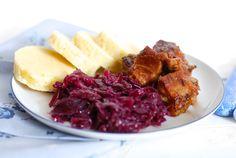 Vepřové výpečky Cabbage, Pork, Cooking Recipes, Vegan, Vegetables, Kale Stir Fry, Chef Recipes, Cabbages, Vegetable Recipes