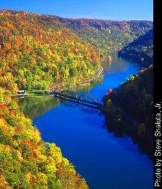 Hawks Nest State Park, West Virginia (born in W.Va.) Saw this many times on visits when I was a kid.