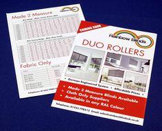 Colour Leaflets - order online here http://www.spotonprintshop.co.uk/leaflets/cat_45.html