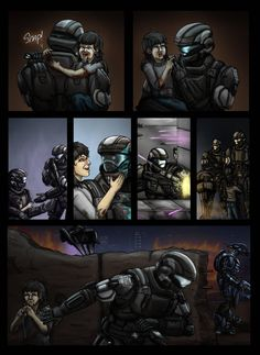 Halo: DogTag Origins Page 4 by on DeviantArt xbox serisi x - Mi Hermoso Mundo Master Chief And Cortana, Halo Master Chief, Halo Game, Halo 3, Halo Reach, Dead Space, Odst Halo, Halo Funny, Character Art