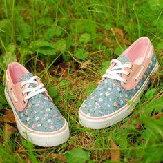 Canvas shoes / Segeltuch Schuhe