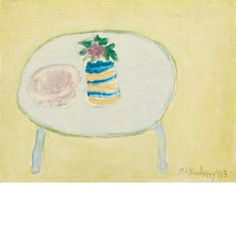 Milton Avery, Lone Flower