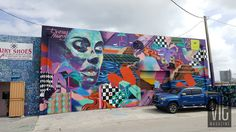 "Miami street art at Miami's Wynwood Arts District | VIE Magazine: The Modern Minimalist Issue July/August 2016 | ""Talking Walls"" 