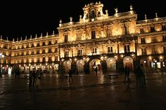 Plaza Mayor in Salamanca, Spain. The heart of the city.