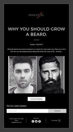 Why you should grow a beard.
