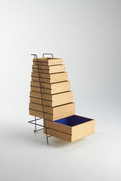 Keiji Ashizawa; Wood and Metal Drawers for FRAMA, 2011.