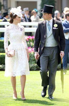 Prince William, Princess Kate, Queen Elizabeth Arrival Royal Ascot 2017