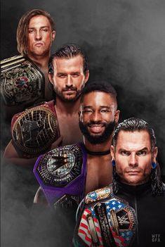 The Hardy Boyz, Jeff Hardy, Wwe Women's Championship, Adam Cole, Wrestling Stars, Wwe Roman Reigns, Wwe Stuff, Wwe Tna, Wwe Champions