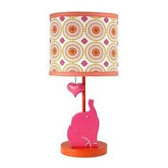 Happy Chic by Jonathan Adler Party Elephant Table Lamp