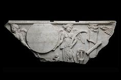 Fragment of a sarcophagus Roman workshop IInd - IIIrd century A. Roman Artifacts, Ancient Artifacts, Museum Studies, Ancient Rome, Roman Empire, Archaeology, Art Pieces, Workshop, Objects