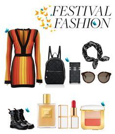 """festival fashion II"" by lov3story on Polyvore featuring Mode, Balmain, Demonia, STELLA McCARTNEY, rag & bone, Tom Ford, contest, contestentry und festivalfashion"