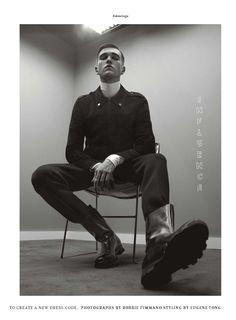Gabriel Kane para DETAILS Magazine Noviembre 2015 por Robbie Fimmano
