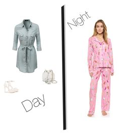 """#day&nightoutfits"" by chavezmelissaa on Polyvore featuring beauty, P.J. Salvage, LE3NO, Nly Shoes and Rebecca Minkoff"