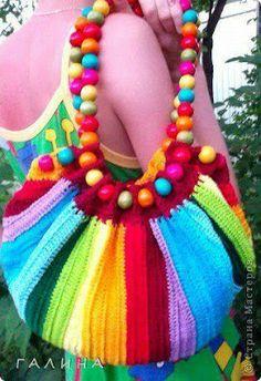 mel blog: Bolsas de croche