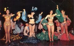 Showgirls at the Tropicana ~ Cuba