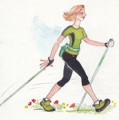 Walk For Life, Walking Poles, Nordic Walking, Walking Exercise, Rando, Low Impact Workout, Fitness, Sports, Nova Scotia