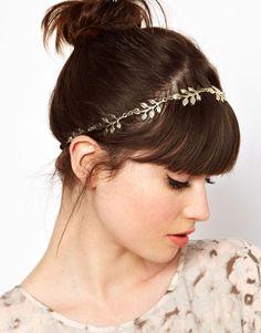 Grecian Leaf Hairband