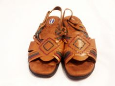 DR. SCHOLL'S Leather Sandals Size 10 W Slingback. $33.15
