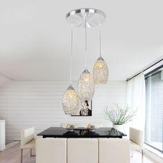 Fashion Simple Aluminum Dining Room Pendant Lamp Bar Pendant Lamp Kitchen Pendant Lamp