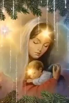 Jesus And Mary Pictures, Mother Mary Images, Images Of Mary, Angel Pictures, Merry Christmas Pictures, Christmas Scenery, Merry Christmas Images, Christmas Nativity Scene, Christmas Glitter