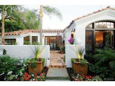 Landscaping front yard colonial spanish revival 17 Super ...