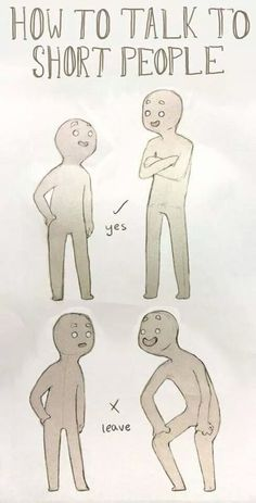 How To Talk To Short People