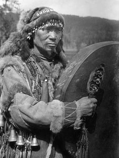 Altai,Shaman. First Nation shaman from Asia
