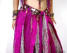 Costume de danse orientale Tribal Fusion ceinture ceintures