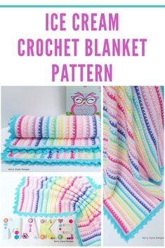This beautiful crochet baby blanket is a great project to do and would make lovely gift. Baby Girl Crochet Blanket, Crochet Girls, Baby Girl Blankets, Crochet Blanket Patterns, Crochet Baby, Crochet Blankets, Knitting Patterns, Unique Crochet, Beautiful Crochet