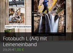 Groupon: Fotobuch mit Leineneinband und 30 A4-Seiten für 5,95 Euro frei Haus http://www.discountfan.de/artikel/technik_und_haushalt/groupon-fotobuch-mit-leineneinband-und-30-a4-seiten-fuer-595-euro-frei-haus.php Zum Schnäppchenpreis von einem Euro ist jetzt via Groupon ein 30-seitiges Fotobuch im Format A4 mit Leineneinband von Albelli zu haben – normalerweise kostet das Produkt über 23 Euro. Für den Versand fallen nochmals 4,95 Euro an. Fotobuch mit Leineneinband